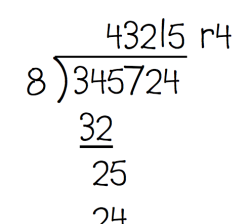 long division cover