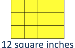 12 Square Inches vs 12 Inches Squared